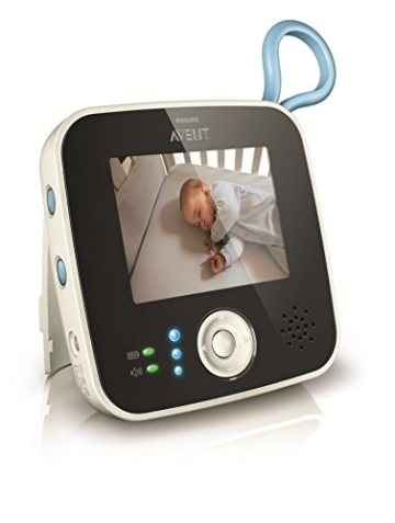 Philips Avent SCD610 Video Babyphone (Farbdisplay & Nachtsichtfunktion) - 2