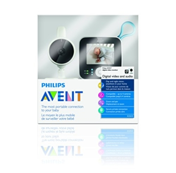 Philips Avent SCD610 Video Babyphone (Farbdisplay & Nachtsichtfunktion) - 8