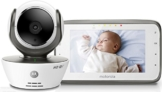 Motorola MBP 854 Connect - Wi-Fi Video Babyphone mit 4.3 Zoll Farbdisplay, weiß - 1