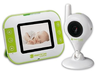Audioline, Watch and Care V140, Video-Babyphone mit Nachtlicht und Gegensprechfunktion - 1