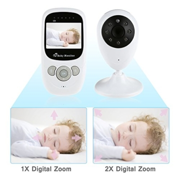 iLifeSmart Wireless Baby Monitor/Babyphone Video with Camera Two-Way Audio&Night Vision&Temperature Monitor - 4