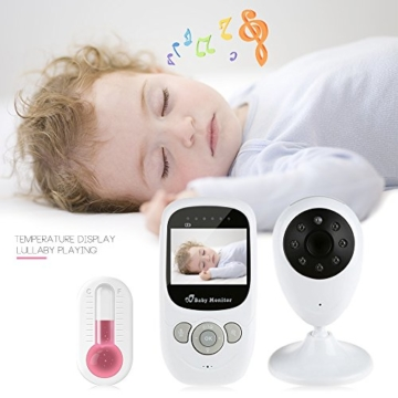 iLifeSmart Wireless Baby Monitor/Babyphone Video with Camera Two-Way Audio&Night Vision&Temperature Monitor - 6
