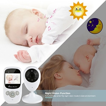 iLifeSmart Wireless Baby Monitor/Babyphone Video with Camera Two-Way Audio&Night Vision&Temperature Monitor - 7