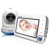 Luvion 71 Supreme Connect Digitales Babyphone mit Videofunktion, 4,3 Zoll Farbbildschirm, Dual-Modus (optional WiFi), weiß - 1