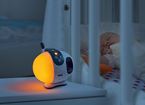 NUK Eco Control+ Video Max 410, digitales Babyphone mit Kamera, Sternenprojektion, frei von hochfrequenter Strahlung im Eco-Mode - 3
