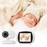 "XCSOURCE® 3.5"" LCD Digital drahtloser Baby Monitor Kamera Audio Video Infant Nachtsicht Monitor Bunte Anzeige HS667 - 1"