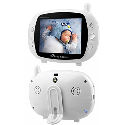 "XCSOURCE® 3.5"" LCD Digital drahtloser Baby Monitor Kamera Audio Video Infant Nachtsicht Monitor Bunte Anzeige HS667 - 3"